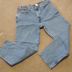 Mens Levi's 550 jeans